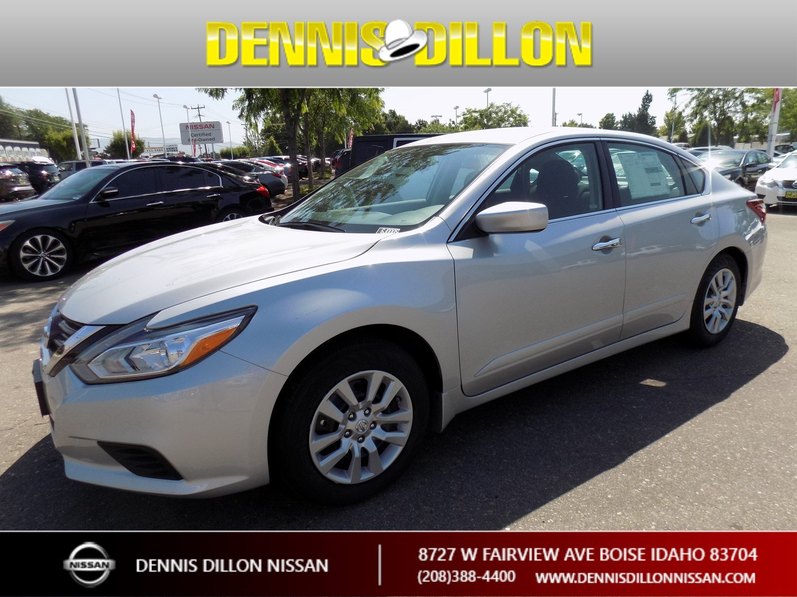 New 2018 Nissan Altima 2 5 S 4dr Car in Boise 6J0005