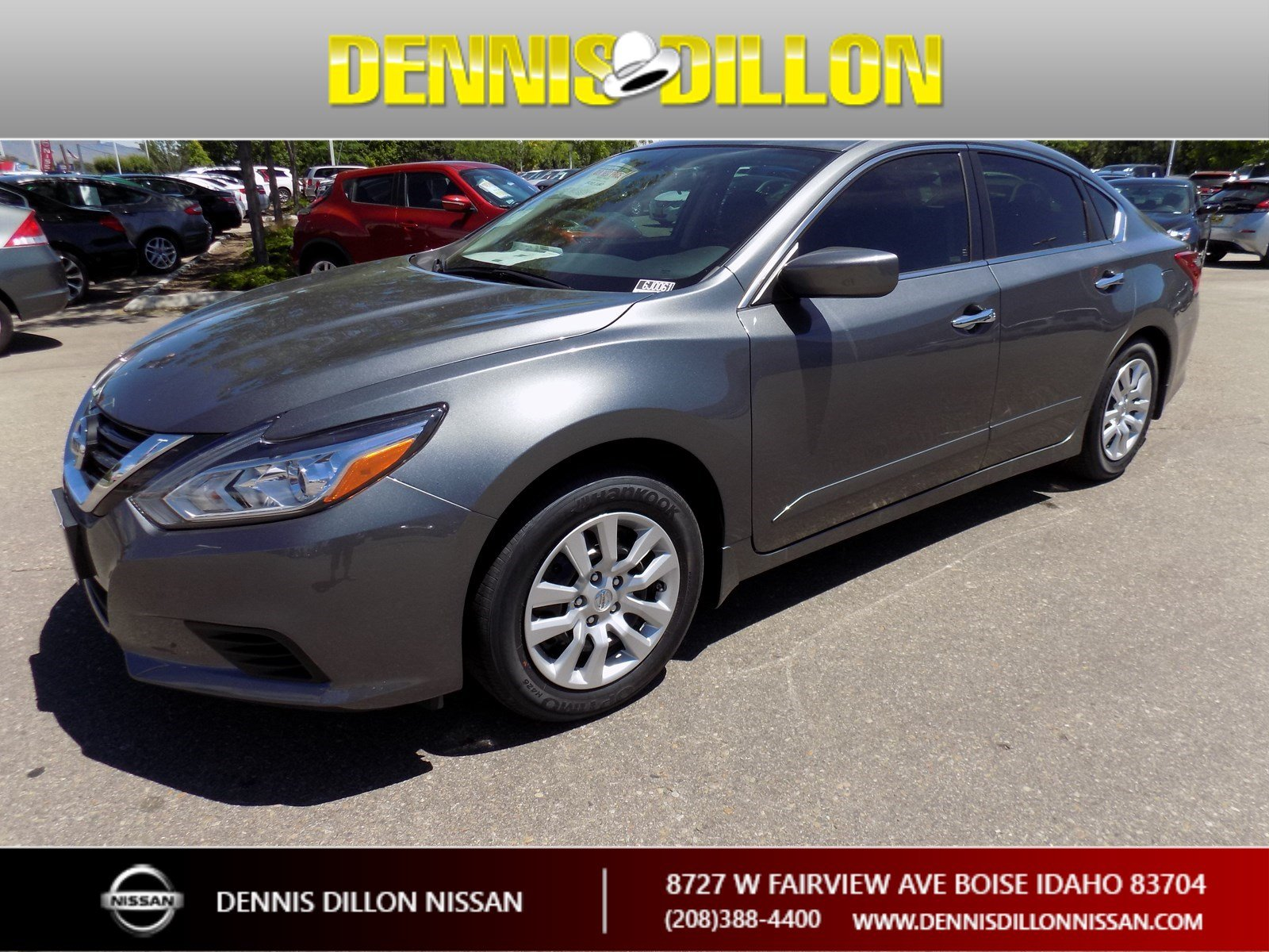 New 2018 Nissan Altima 2 5 S 4dr Car in Boise 6J0061