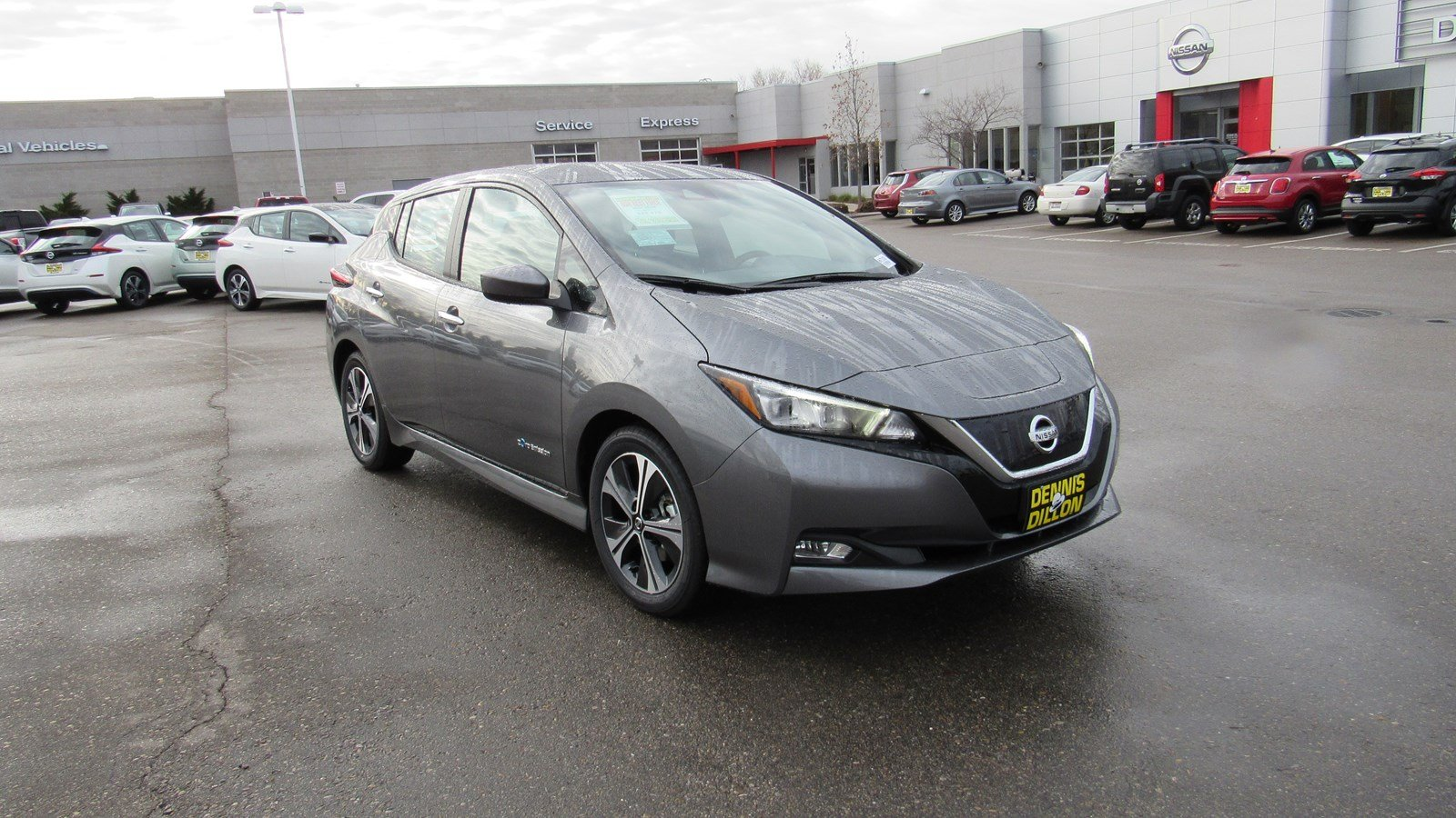 New 2019 Nissan Leaf Sv Hatchback In Boise 6k0108 Dennis Dillon