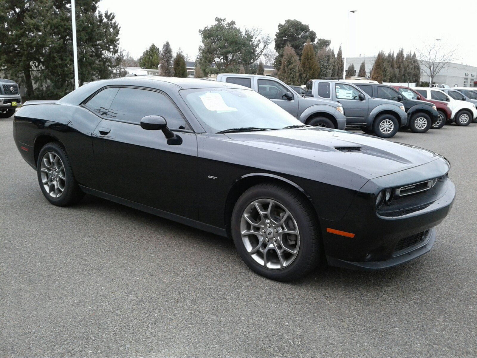 Dennis Dillon Dodge >> Pre Owned 2017 Dodge Challenger Gt With Navigation Awd