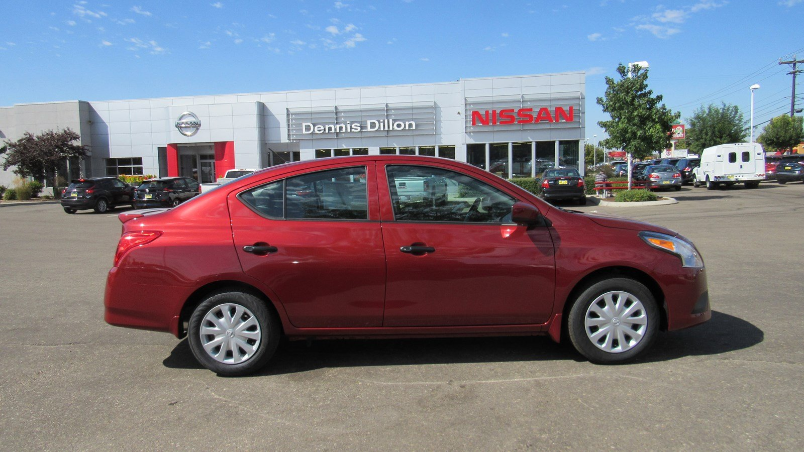 New 2018 Nissan Versa Sedan S Plus 4dr Car In Boise 6j0373 Dennis 2012 Fuel Filter