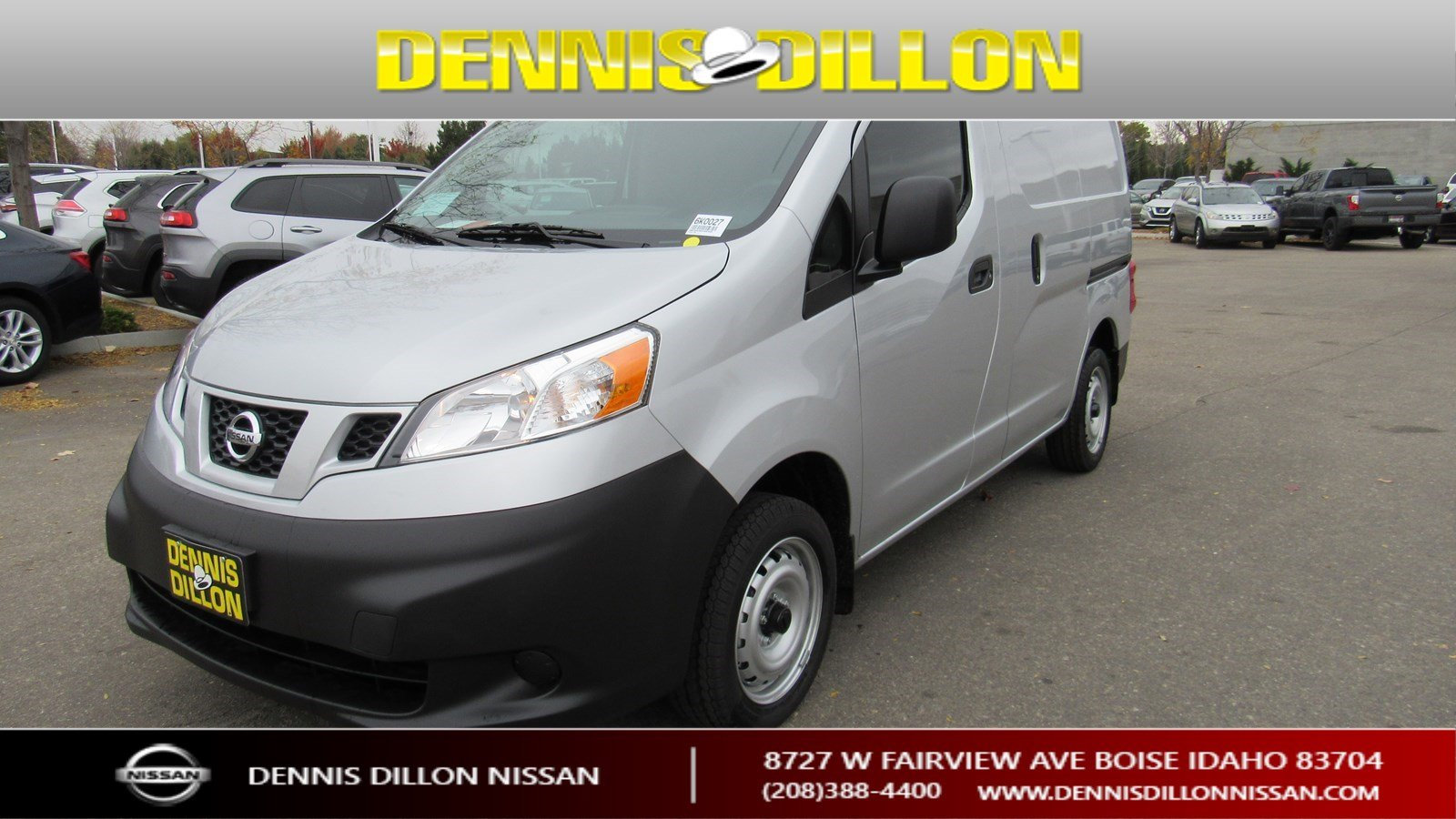 New 2019 Nissan Nv200 Compact Cargo S Mini Van Cargo In Boise